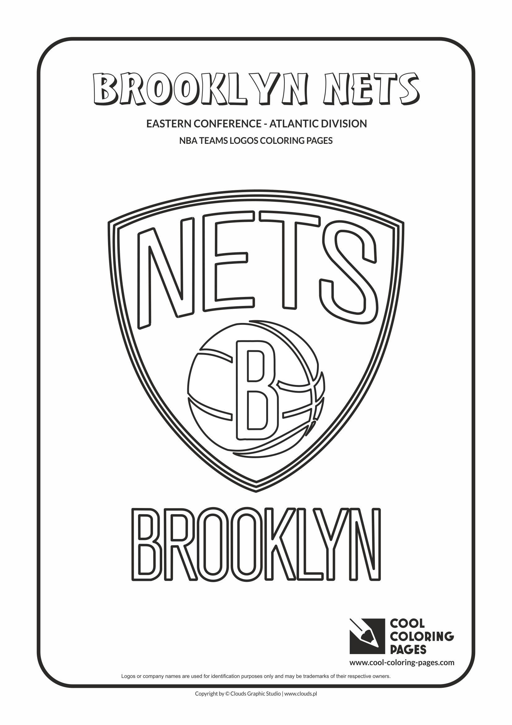 Basketball Nba Logo Coloring Pages Coloring And Drawing