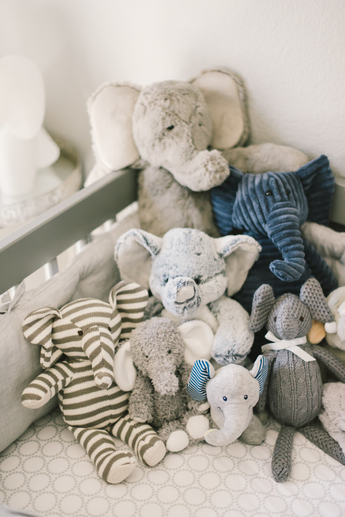 Grayson's Modern Grey, Navy and White Nursery - Project ...