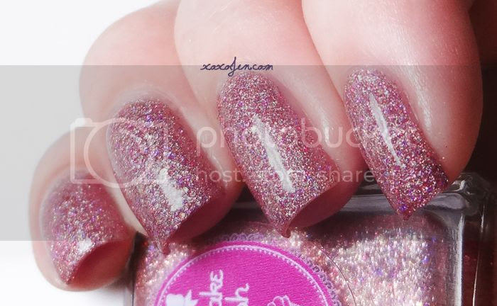 xoxoJen's swatch of Cupcake Polish As Good As Rose Gold