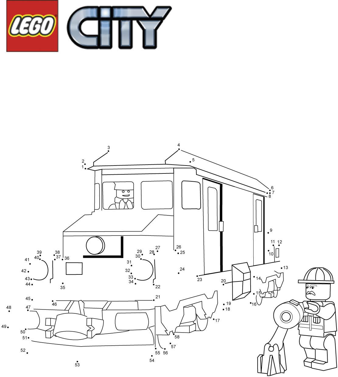 Najbardziej Poszukiwane Kolorowanki Lego Policja Najlepsze