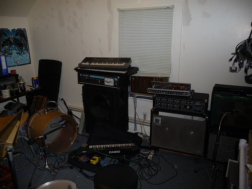 The Studio in the Throes of Production