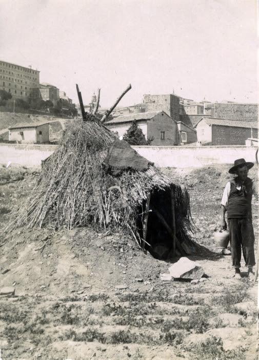 Huerta de San Pablo en junio de 1905. Fotógrafo anónimo. Colección Luis Alba. Ayuntamiento de Toledo