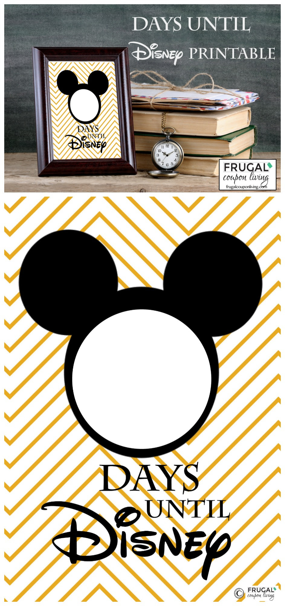 countdown to disney collage frugal coupon living