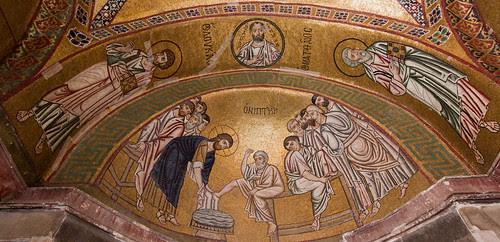 Washing of the apostle's feet