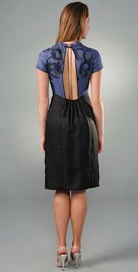 Rebecca Taylor Open Back Dress