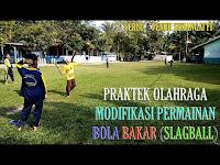 VARIASI : Modifikasi Olahraga Permainan Bola Bakar (SlagBall) Anak SD / MI Paling Asik & Seru Penuh Semangat