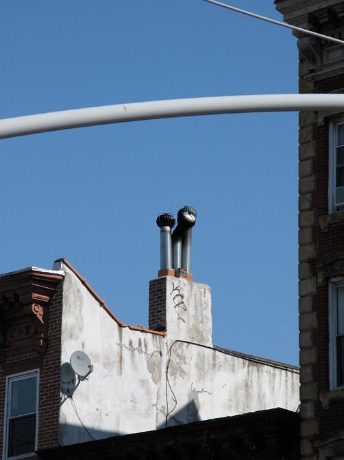 chimney of Manhattan, NYC