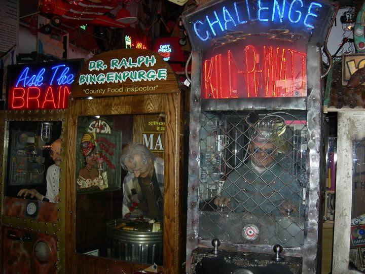viejas maquinas arcade de tortura