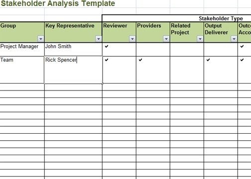 Pin By Crunch Template On Templates Stakeholderysis
