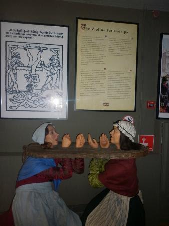 Museum of Medieval Torture Instruments: ...shouldn't gossip