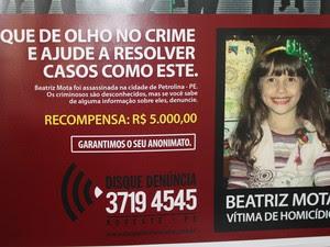Disque-Denúncia do Caso Beatriz (Foto: Yuri Matos/G1)
