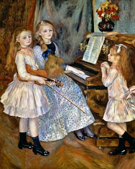 Pierre-Auguste Renoir - Las hijas de Catulle-Mendès