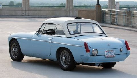 1965 MGB Roadster Works Rally Tribute Rear