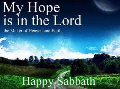 Sing Out My Soul to The Lord: HAPPY SABBATH + PRAYER ...