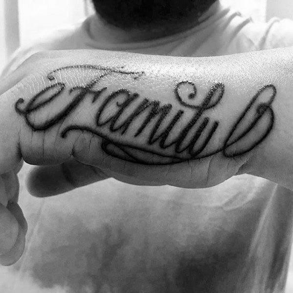 40 Side Hand Tattoos For Men Palm Edge Design Ideas