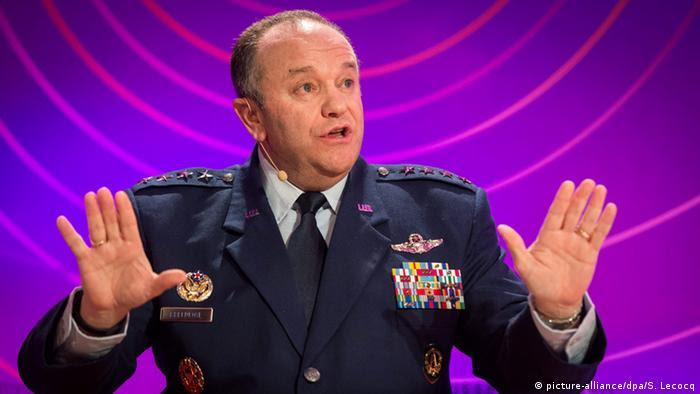 Bélgica Brüssel General Philip Breedlove