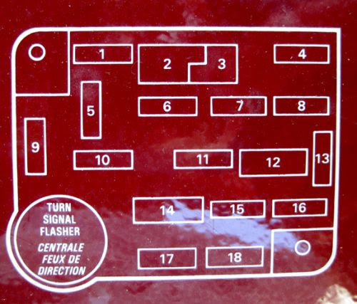 91 F250 Fuse Map Ford Truck Enthusiasts Forums