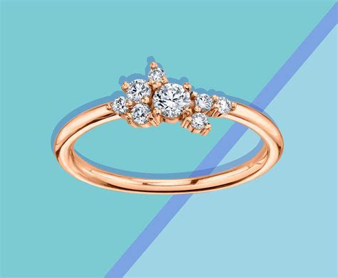14 Minimalist Engagement Rings That Are Easy to Wear Every