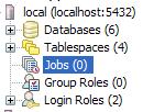 pgagent jobs