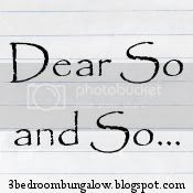Dear So and So... Logo