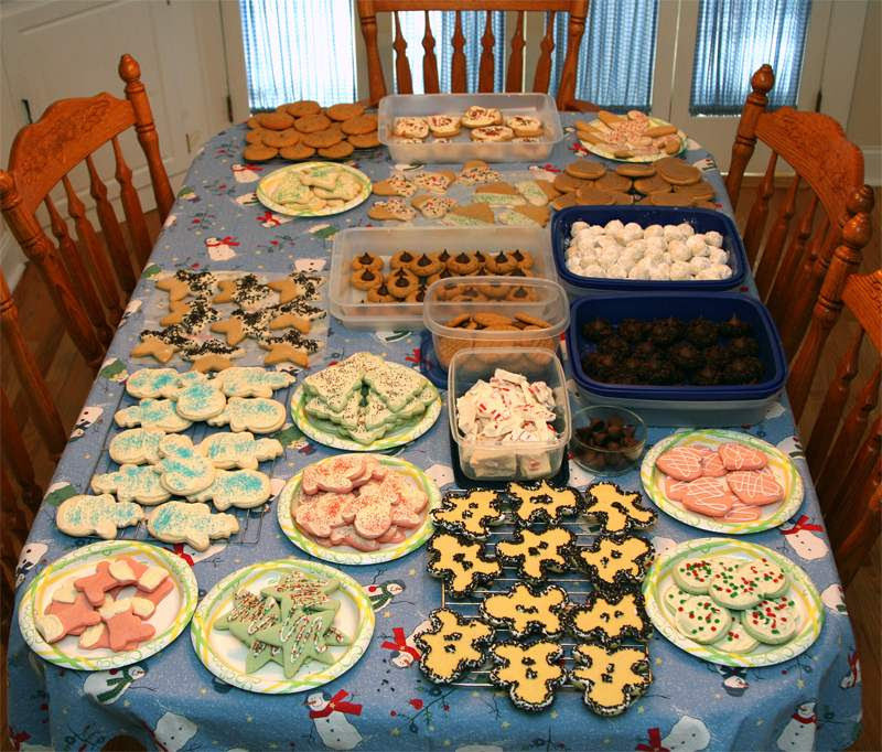 My wife Cindi makes a mean batch of cookies.