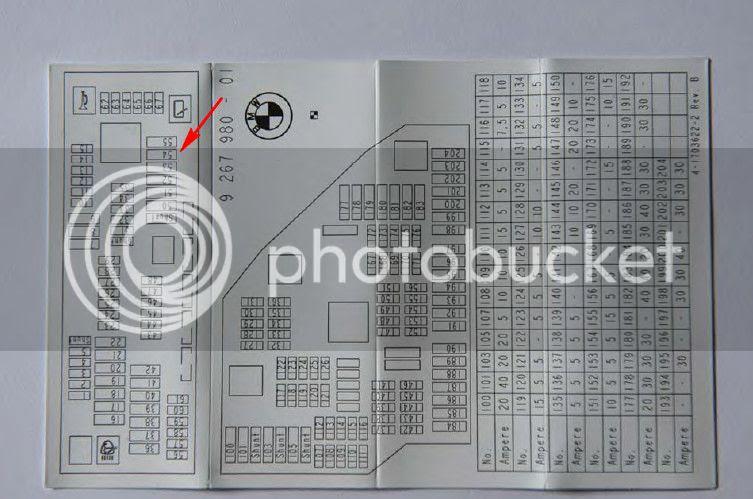 2011 Bmw 535i Fuse Box Diagram