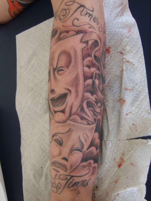 Happy And Sad Face Tattoos Tattoos Designs Ideas