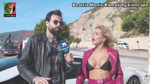 Beatriz Moniz Ramos sensual em participação num videoclip