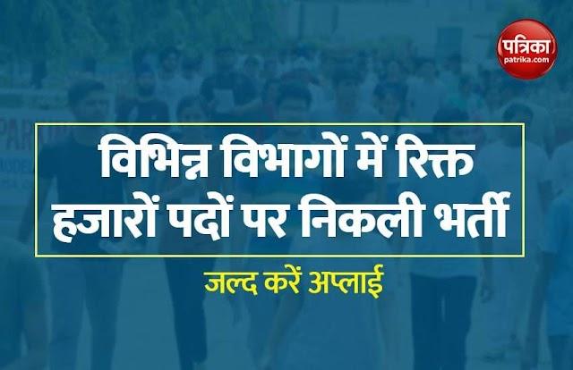 Sarkari Naukri 2021: 8वीं पास से लेकर ग्रैजुएट युवाओं के लिए निकली सरकारी नौकरियां, फटाफट करें अप्लाई
