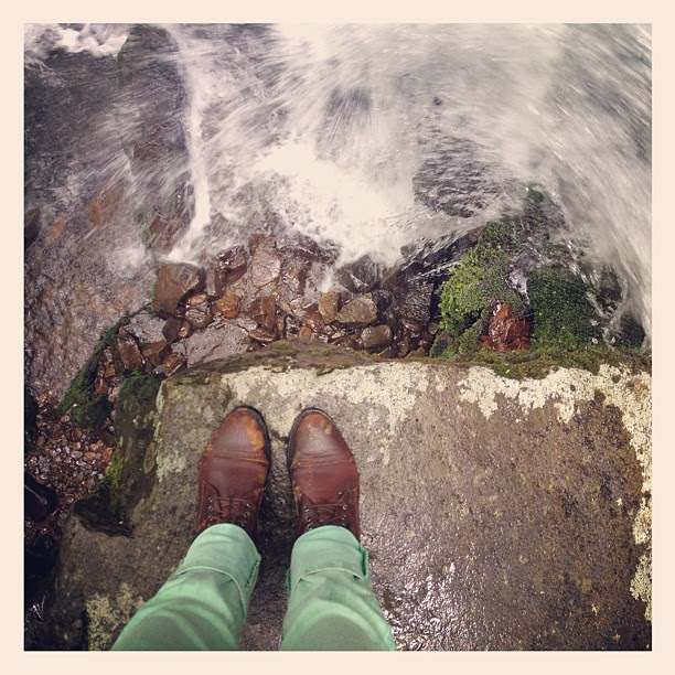 Grotto Falls #fromwhereistand