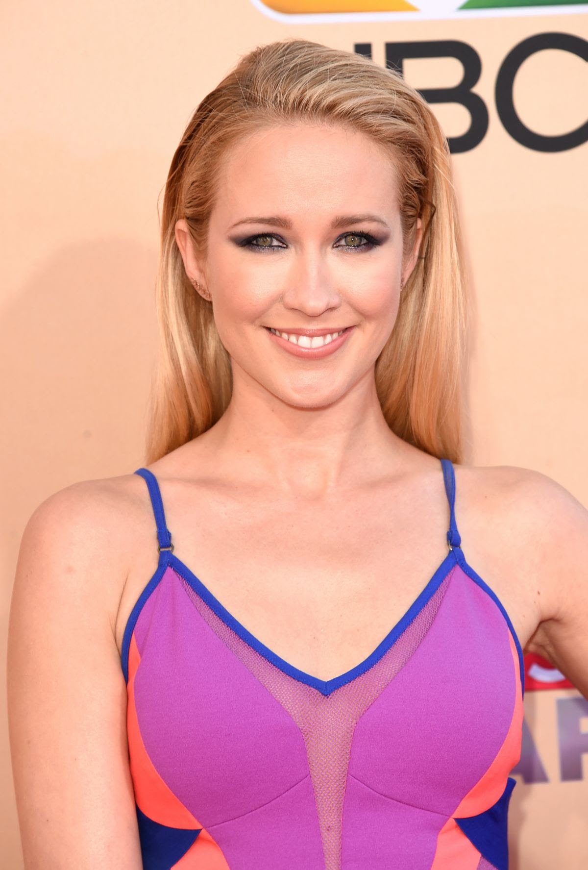 ANNA CAMP at 2015 iHeartRadio Music Awards in Los Angeles