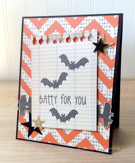 batty for you Reverse Confetti by Kimberly Crawford