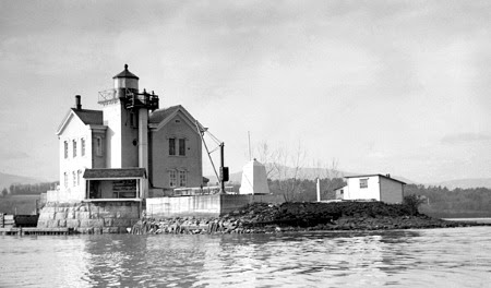 Saugerties Lighthouse, NY, USCG photo