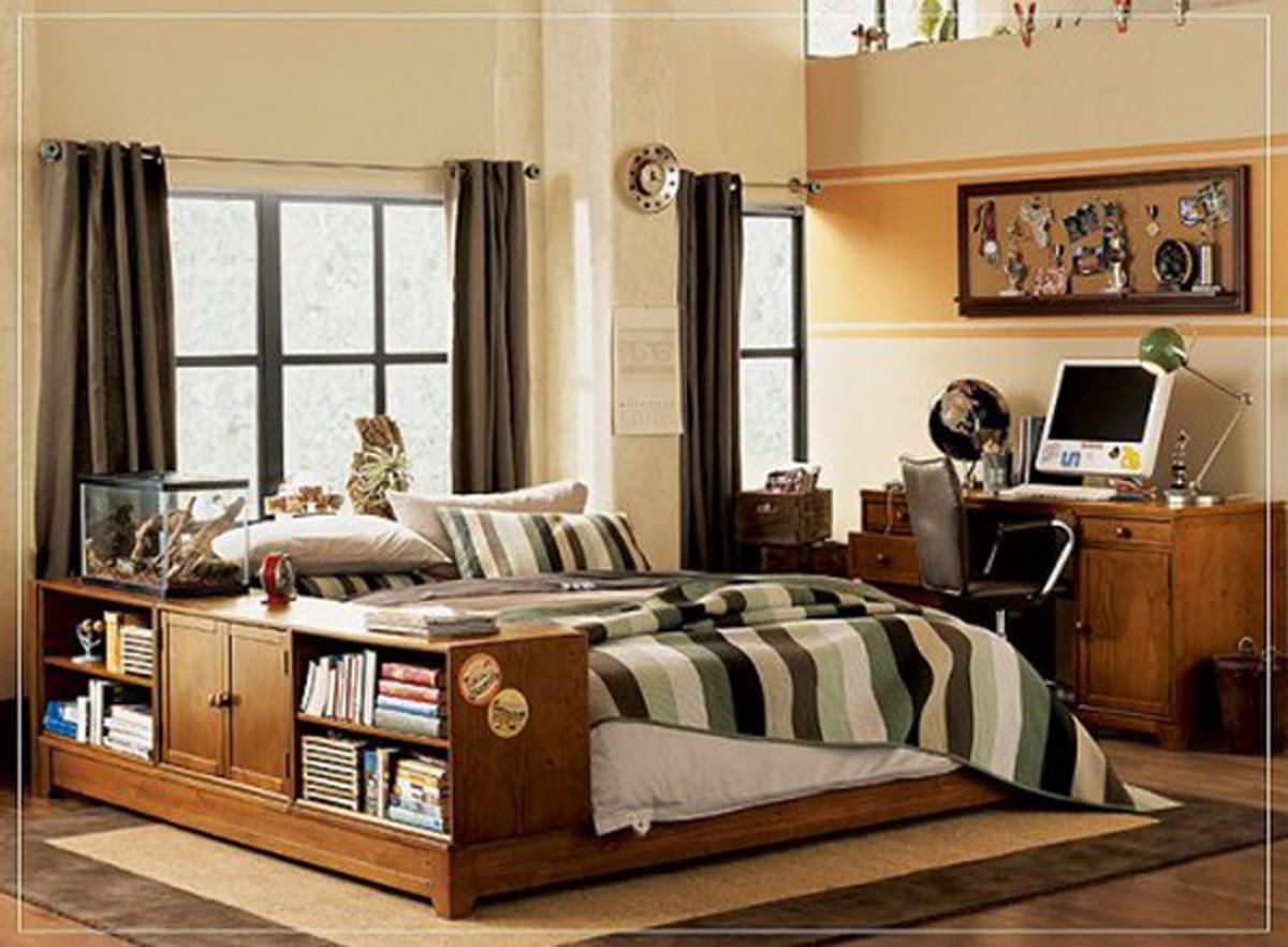 Modern Inspiring Boys Bedroom Designs: inspiring boys room decor ...