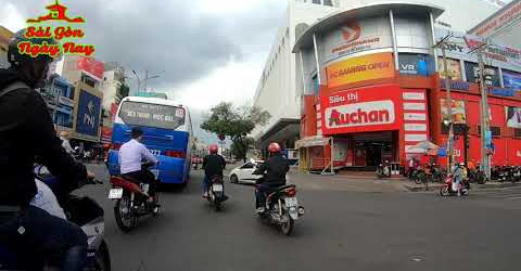 Loanh quanh 1 vòng Sài Gòn từ Q11 -Tân Bình-Phú Nhuận -Bình Thạnh Q1 -Q3- Q10