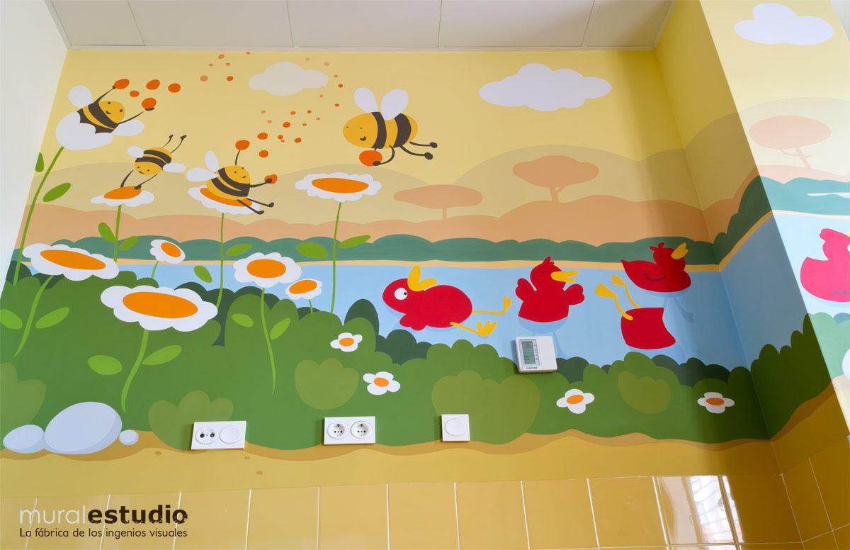 Murales De Pared Para Colegios