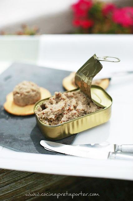 Paté de sardinas portada