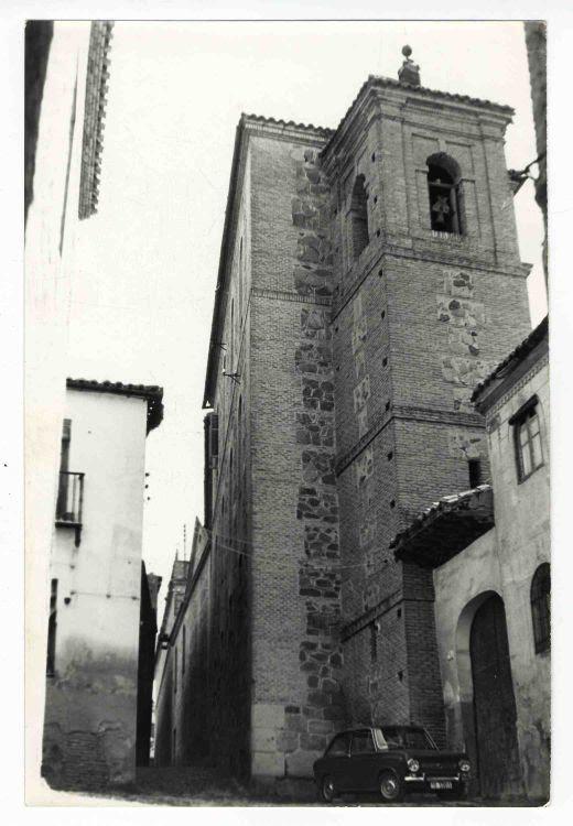 Iglesia de Santa Eulalia hacia 1970. Colección Luis Alba. Ayuntamiento de Toledo