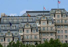 The famous Willard Hotel