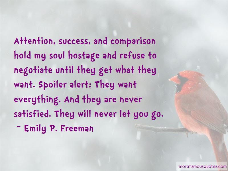 Will Never Let You Go Quotes Top 41 Quotes About Will Never Let You