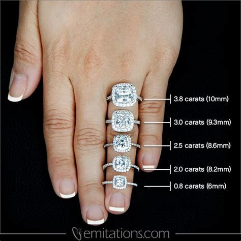 Gorgeous Engagement Rings and the Difference Between Sizes