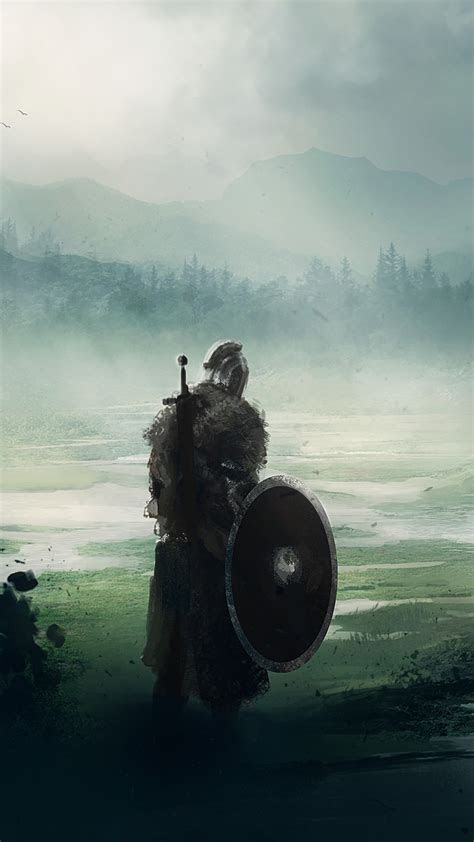 wallpaper dark souls fan art warrior  art