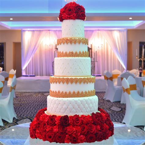 Icing wedding Cake WIC 004   Paul's Bakery