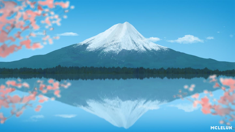 Painting Mount Fuji
