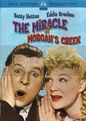 DVD Cover for The Miracle of Morgan's Creek