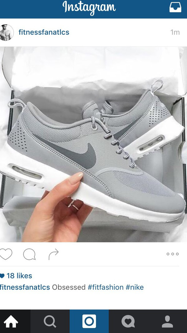 Amazon Air Max Nike Pink Thea Instagram B6711 E820e