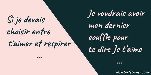 Lui Dire Je Taime Message Original Ou Sms Damour En Poème