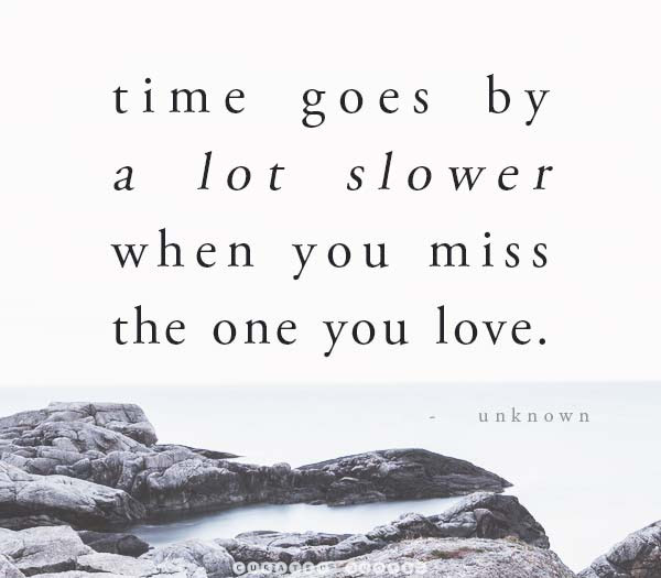 34 Love Quotes About Missing You Curated Quotes