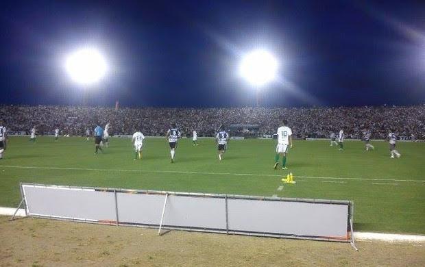 Botafogo-PB 2 x 0 Juventude, no Estádio Almeidão, final da Série D do Campeonato Brasileiro (Foto: Larissa Keren / Globoesporte.com/pb)