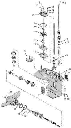 Mercury Outboard Parts Drawings Tech Video